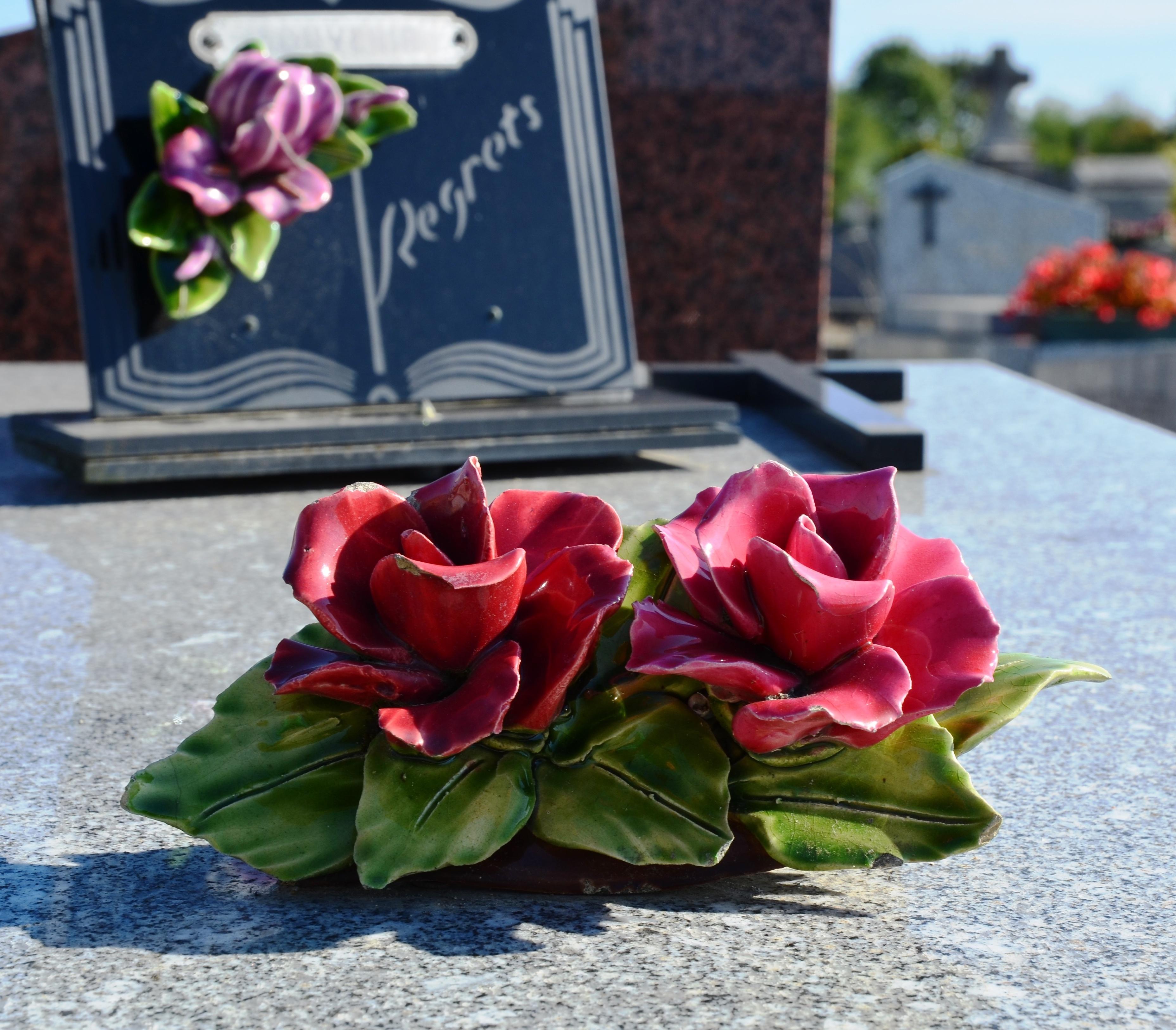 Les ornements funéraires